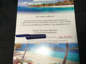 7 Nights Accommodation Palm Island Resort