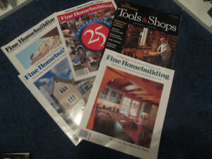 64 issues of Fine Homebuilding