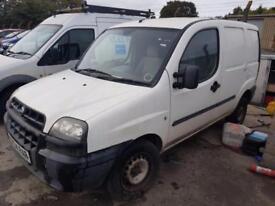 2004 04 plate Fiat Doblo Cargo 1.9D