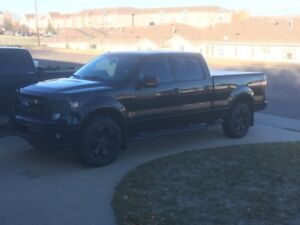 2013 F-150 Crew Cab FX4 Appearance Package 6.5 box.