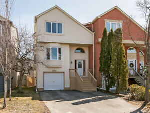 Stunning FREEHOLD, END-UNIT Townhome