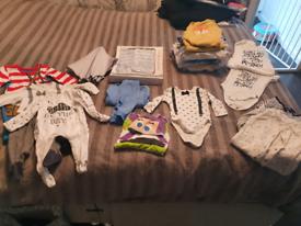 0-3 month baby boy bundle.