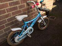 """Diamond Back Senorita 14"""" girls bike"""