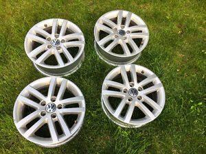 Volkswagen VW alloy factory rims 16""