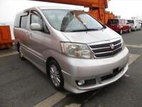 TOYOTA ALPHARD, 2004, 3.0 LITRE V6, PETROL, 58,937 MILES, AUTOMATIC IN SILVER
