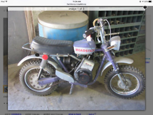 Need old moped or minibike or something to fix or ride