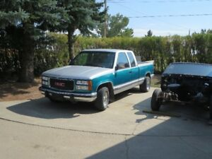 1994 GMC  2 WD  SHORT BOX EXTENDED CAB