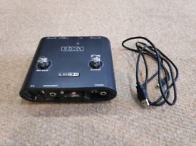 LINE 6 Toneport UX1 USB Audio Interface Guitar Effects & Amp Modelling