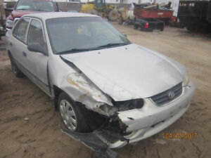 JUST ARRIVED FOR PARTS 2001 TOYOTA COROLLA @ PICNSAVE WOODSTOCK!