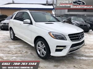 2015 Mercedes Benz M-Class ML400...MINT...ONE OWNER...NO ACCIDEN