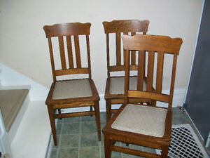 WOODEN CHAIR(only 3 chairs) Kitchener / Waterloo Kitchener Area image 1