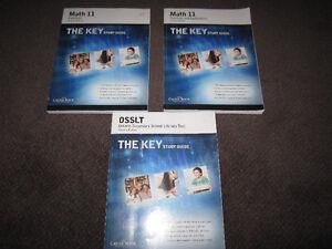 The Key Workbook Assortment - High Scvhool Levels - NEW - $10 ea