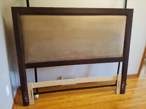 Double/queen headboard and frame