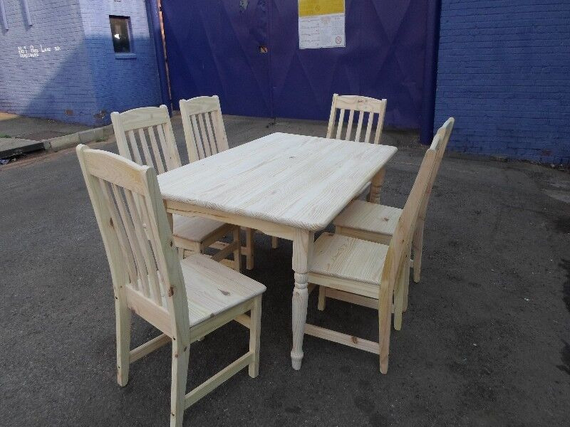 PINE DINING ROOM SETS FOR SALE