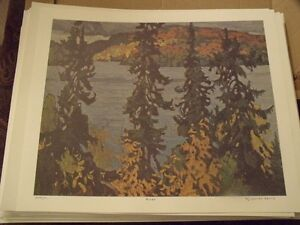 Numbered prints of the Group of Seven Peterborough Peterborough Area image 2