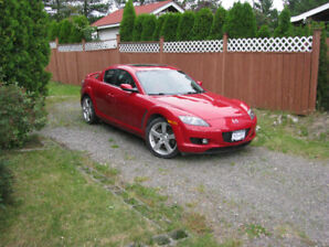 2008 MAZDA RX-8  LOW LOW MILEAGE MINT CONDITION