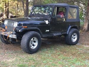 1987 jeep best offer want it gone