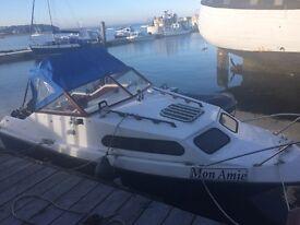 Shetland 570 with 60hp Mercury