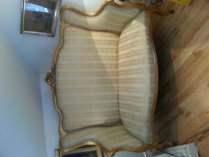 Antique french love seat