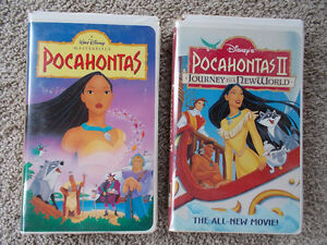 POCAHONTAS & II: Journey To A New World ~Disney Movies on VHS London Ontario image 1