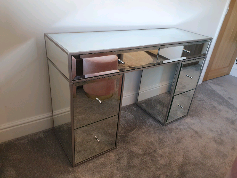 official photos 53824 56de7 Modern and Stylish Mirrored Dressing table (Brooke from Next) | in  Loughton, Essex | Gumtree