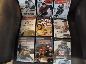 Selected PS2 Games
