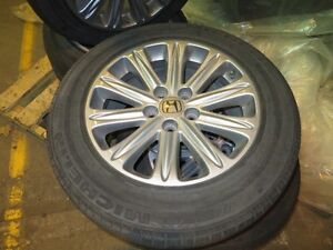 Original Honda Odyssey Rims and Tires - Flat Free Technology Cambridge Kitchener Area image 3