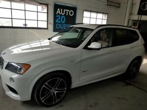 BMW X3 AWD 4dr 35i M PACKAGE 2013