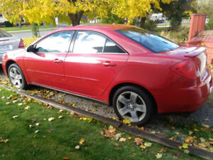 2007 Pontiac G6 4 Dr Sedan
