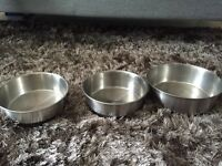 Dog bowls (buy all or separately)
