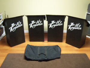 Music Stands - set of 4 for a dance band