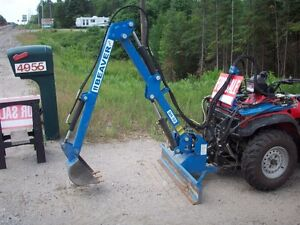BEAVER PRO QH 50 EXCAVATOR / BACK HOE FOR ATV REDUCED