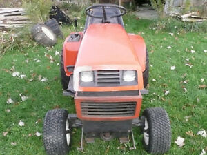 Ariens Lawnmower Tractor-Snowblower-PlowBlade.extra tires/chains London Ontario image 2