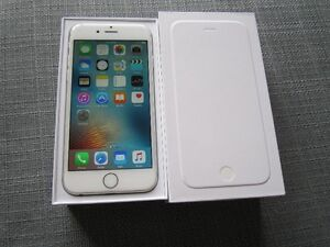 Iphone 6 Silver 64GB Factory Unlocked