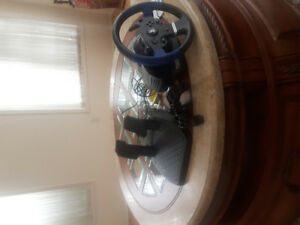 Ps4 Racing wheel Thrustmaster T150 Wheel and Pedals.