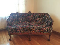LOW PRICE!! Vintage Victorian Sofa and Loveseat!
