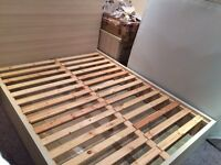 Flat pack king sized bed and 2 bedside cabin