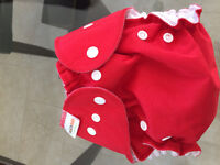 Cloth diapers from birth to potty