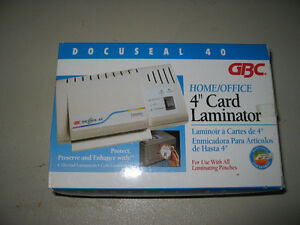 4 inch Card Lamintor