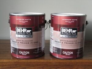 Interior paint - BEHR - never opened