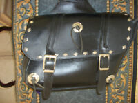 Leather saddle bags Reduced Again to $75.00
