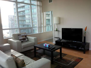 Dec 17: Furnished Downtown 2 Bed 2 Bath next to Union