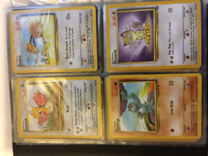 First Generation Pokemon Cards