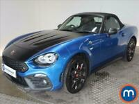 2018 Abarth 124 Spider 1.4 T MultiAir 2dr Auto Convertible Petrol Automatic
