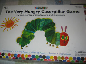 """Eric Carle Game """"The Very Hungry Caterpillar"""" and playset St. John's Newfoundland image 2"""