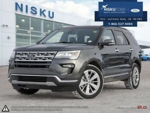 2019 Ford Explorer Limited  - Sunroof - Park Assist