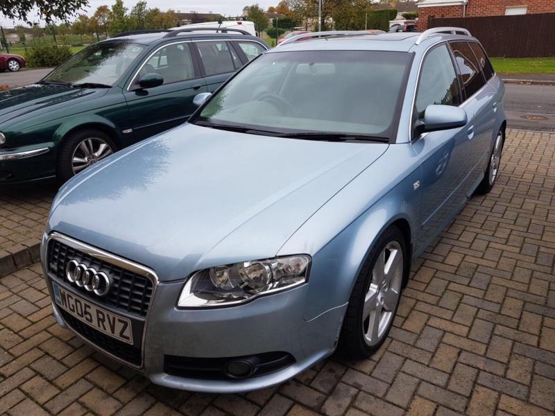 2005 Audi A4 Avant 2.0TDI MULTITRONIC CVT S Line - MOT 10/18 - Full Service