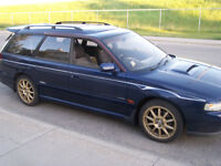 1998 Subaru Legacy GTB AWD 300HP Single turbo modified 77k!!