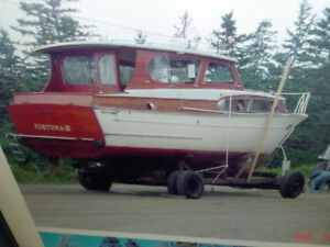 Need place to store and work on a boat on or near Hfx Harbour