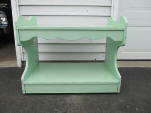 Retro Stand on Casters original paint